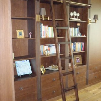 Drabina do szafy bibliotecznej