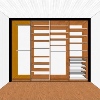 Projekt szafy wnękowej